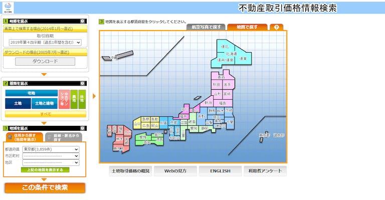 不動産価格 土地総合情報システム