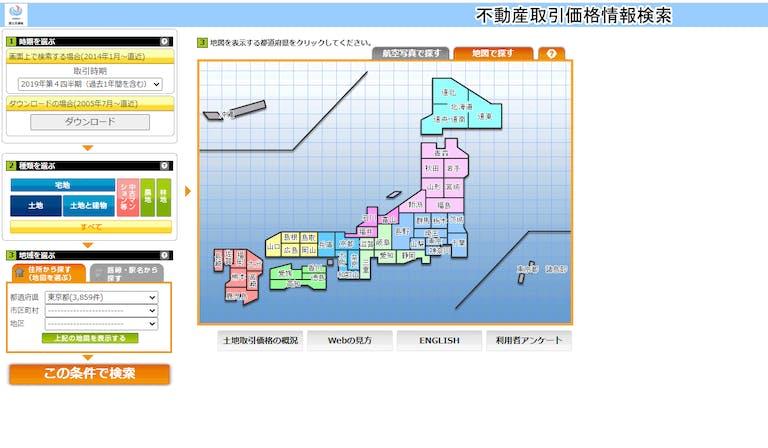 土地情報システム