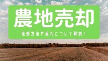 【農地売却】売却方法や流れ、税金について徹底解説!