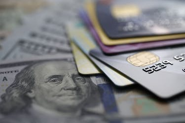 credit cards on dollars